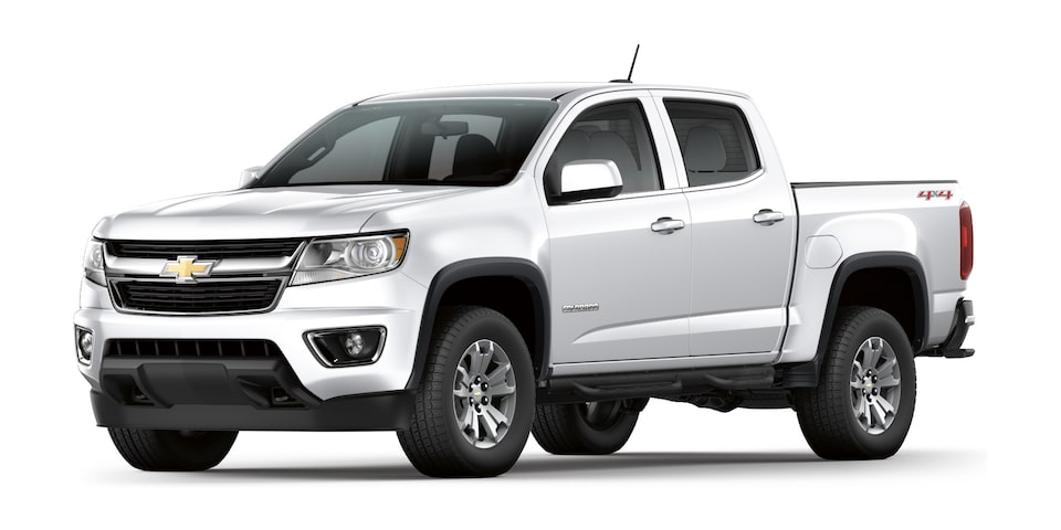 Camioneta 4x4 Colorado 2020 en color blanco