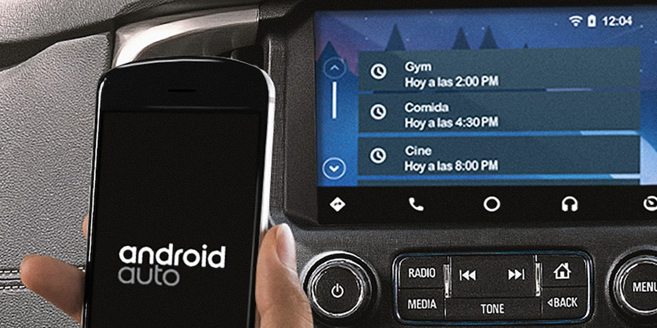 La tecnología de punta en Chevrolet Colorado 2020 integra el smartphone Integration con Apple CarPlay y Android